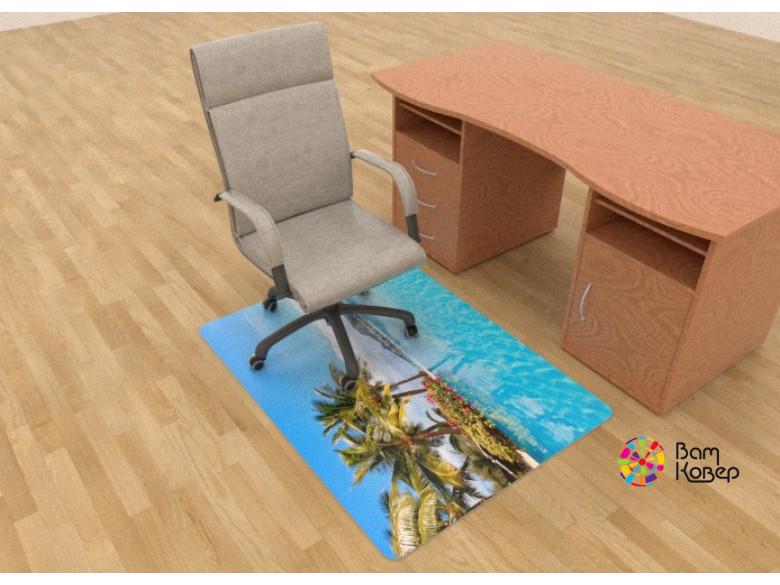 Коврик под кресло Карибы - защитный