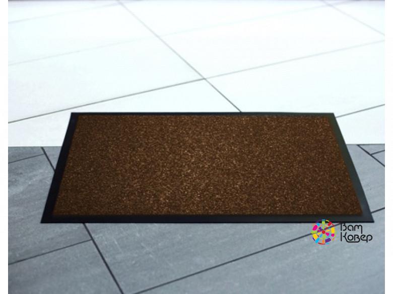 Коврик придверный влаговпитывающий Pekin/Пекин коричневый