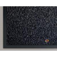 Коврик придверный влаговпитывающий Pekin/Пекин Темно-серый