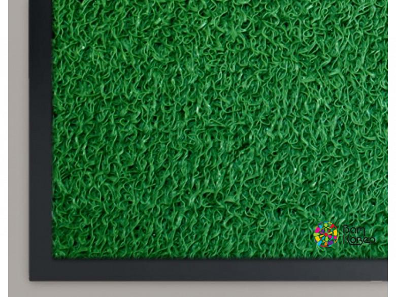 Коврик придверный из ПВХ СПАГЕТТИ (зеленый)