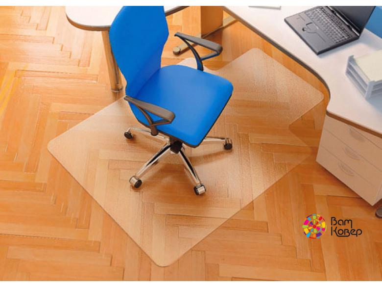 Прямоугольный коврик под кресло (с выступом по широкой стороне)