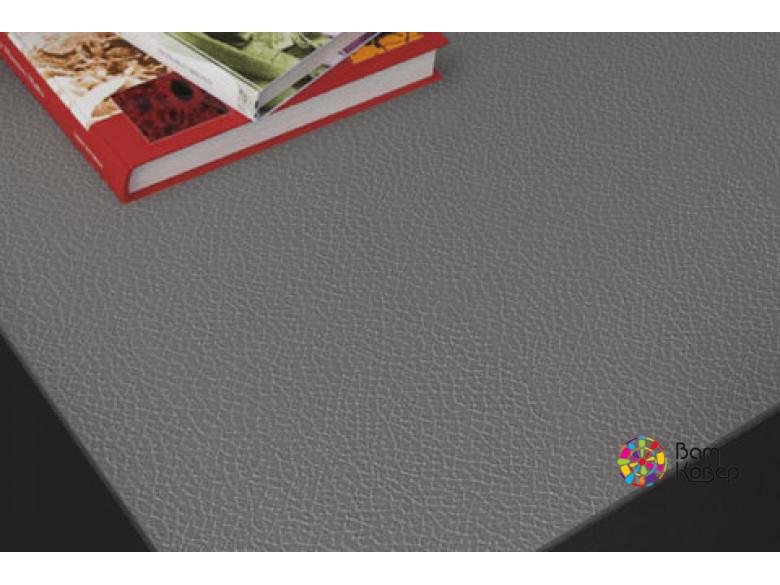 Накладка на стол Колор/Colour под кожу серая